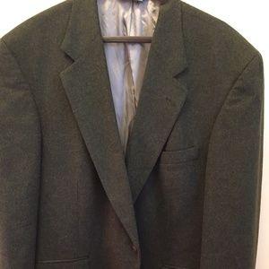 Men's green Tiroler Laden 100% Wool Blazer, 46R